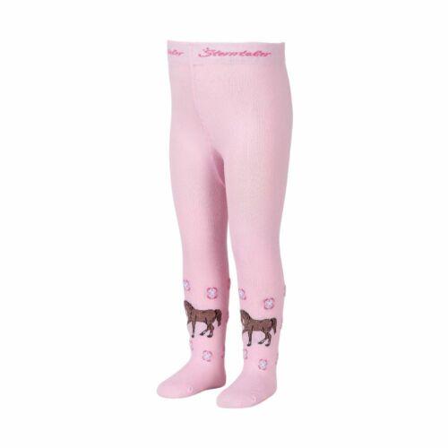 Sterntaler Collant Cheval Fille Taille 68 Rose Enfants Bébé Hiver Chaussette