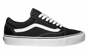 old skool vans junior all black