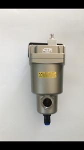 """Micro Mist Separator 3/4"""" SMC Air Compressor Auto Manual Drain 38CFM Removes Oil"""