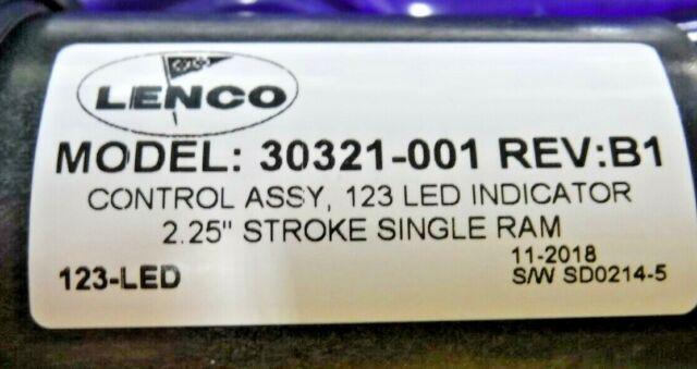 "LENCO 30321-001 Trim Tab Control Assembly w// 123 LED Indicator Switch Kit /""NEW/"""
