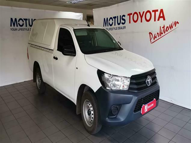 2021 Toyota Hilux MY20.10 2.4GD S A/C 5MT