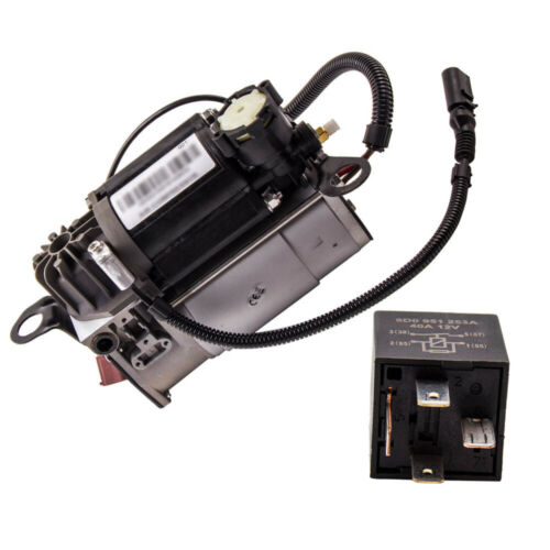 D3 4E For Audi A8 Diesel 10//12 Cylinder Air Suspension Compressor Air Pump New