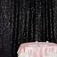 Cortina De Fondo telón de fondo de Brillo Lentejuelas Underlight Cabina Decoración de Boda Fiesta