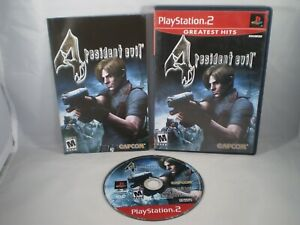 Resident Evil 4 Greatest Hits Video Game Sony Playstation 2 Ps2