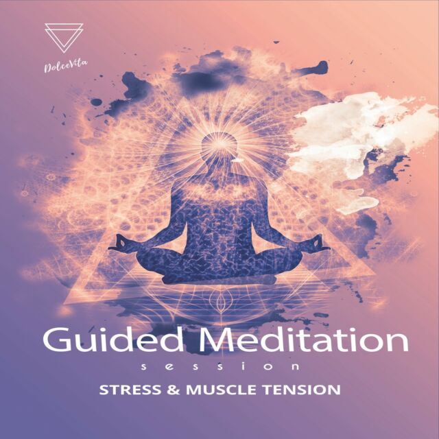 GUIDED MEDITATION CD FOR RELAXATION, MUSCLE TENSION, RELIEVE STRESS & ANXIETY