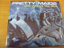 PRETTY MAIDS WAKE UP TO THE REAL WORLD  CD MINT-- RARISSIMO