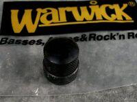 Warwick Black Stacked Knob For Tone Volume Pot Thumb Streamer Bass Parts