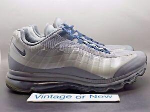 Details about Men's Nike Air Max '95+ BB Dark Grey Wolf Grey Obsidian 2012 sz 12