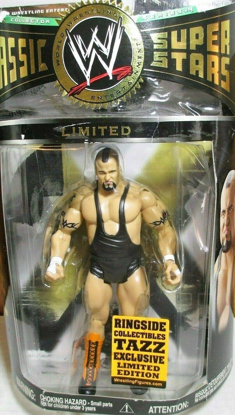 2006 Wrestling WWE Classic Superstars MOC 7  Ringside Tazz Ringside Figure Jakks