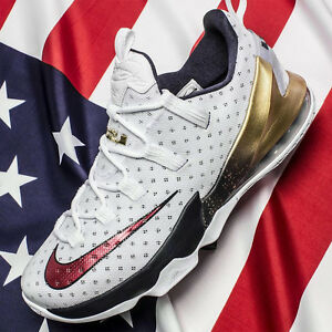 26f69bcec85 Nike LeBron 13 XIII Low USA Gold Medal Size 12. 831925-164 Kyrie ...