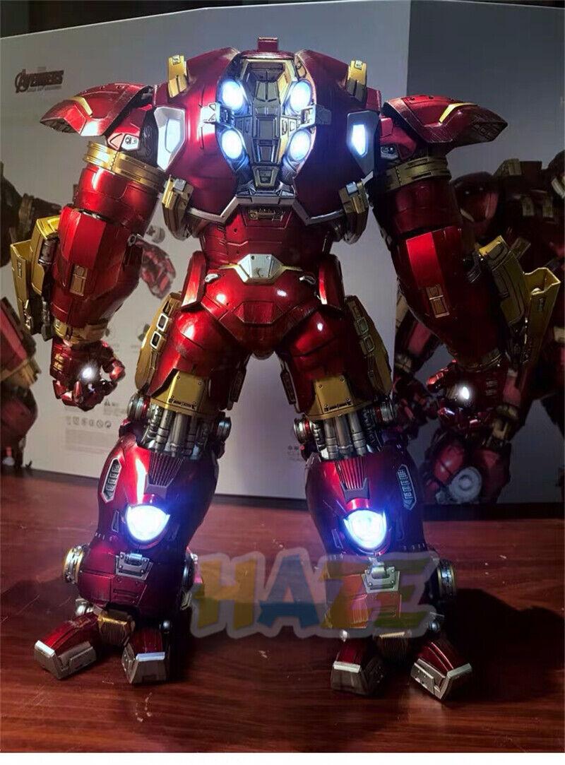 Avengers Iron Man mk44 escala 1 12 Acción Figura Alloy Hulkbuster Collection