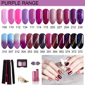 Lavender-Violets-8ml-Purple-Range-UV-LED-Soak-Off-Gel-Nail-Polish-Color-of-2018
