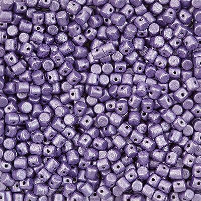 A30//1 Matt Dark Brown Round Glass Beads 6mm Pack of 20