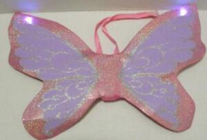 BUILD A BEAR BEARY FAIRY LIGHT UP SPARKLE WINGS COSTUME OUTFIT TEDDY CLOTHES