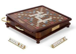 Winning solutions luxury edition scrabble board game from dillard's.