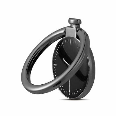 Finger Ring Grip Phone Holder Stand Rotating Car Magnetic Mount Clock USA