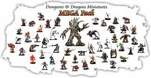 10-PACK-Dungeons-amp-Dragons-Pathfinder-Miniature-LOT-D-amp-D-Figures-RPG-minis