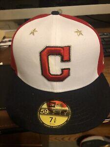 free shipping e88cf 8c04c Image is loading Cleveland-Indians-New-Era-2018-MLB-All-Star-