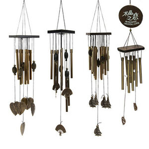 Tubes-Wind-Chimes-Windchime-Chapel-Church-Bells-Home-Yard-Garden-Hanging-Decor