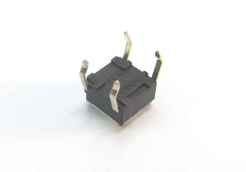 5 pulsadores tactil switch 4 pin 6 x 6 x 3,4 mm 10306 mandos coche cod