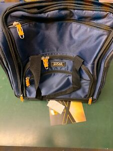 Details About Lucas Wheeled Under The Seat Cabin Bag Carry On Travel Luggage Blue