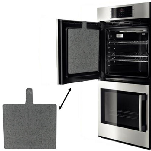Universal Oven Door éclaboussures Silicone Inner Graisse Protector Coupe Pour Taille