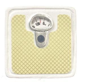 Dollhouse Miniature - Bathroom Weight Scale 1:12 size