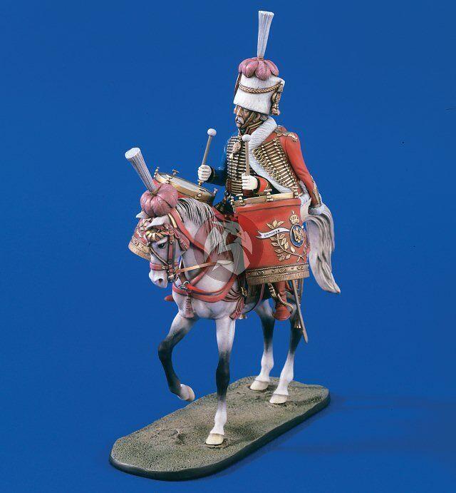 Verlinden 120mm 1 16 Kettledrummer Chasseurs a Cheval Regiment (Napoleonic) 1612