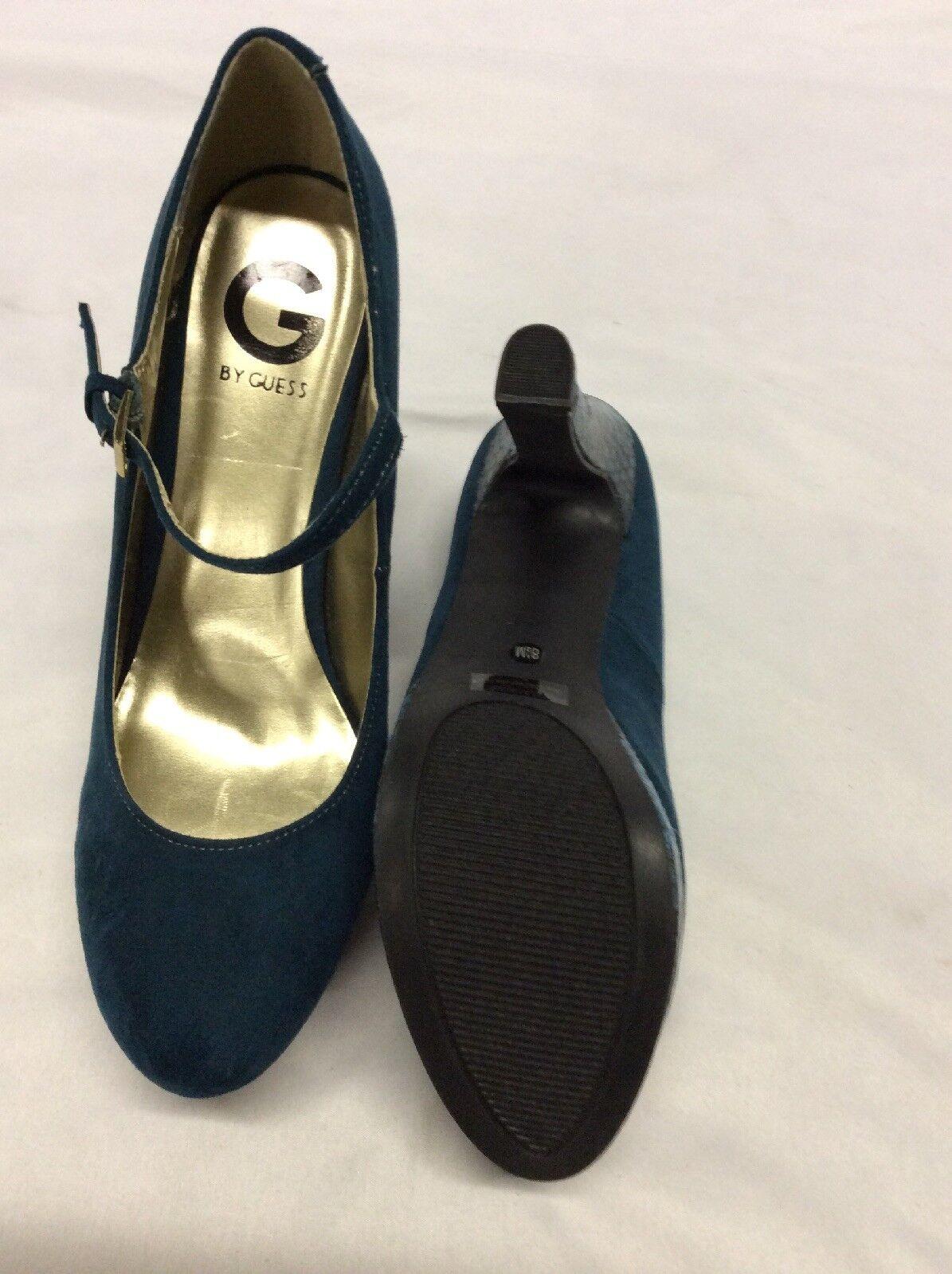GUESS Damens's VARIKA Platform schuhe Pumps Schuhes, Turquoise ,Bridal schuhe Platform  Größe 8.5 M 081536