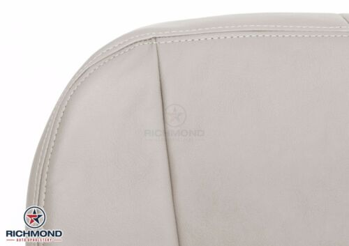 2004-2005 Cadillac SRX Driver Side Bottom Replacement Leather Seat Cover Tan