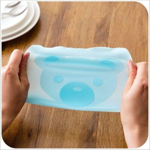 Film de Bol Micro-Ondes Nourriture Plastique Réutilisable Silicone D/'étanchéité Couverture