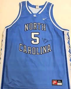 quality design cfddb 3698a Details about Nassir Little UNC Tar Heels Signed 2XL Basketball Jersey  W/COA Proof