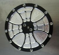 Jr. Dragster Primary Clutch Cover Black Maltese