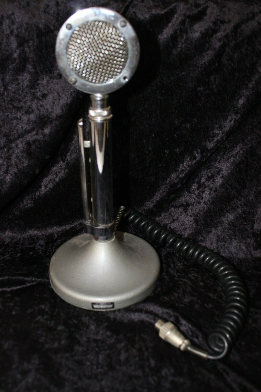 Vintage The Astatic Corp. Model D-104 Lollipop Ham CB Radio Microphone Untested . Buy it now for 75.00