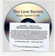 (FV467) The Love Barons, Happy Together - 2014 DJ CD