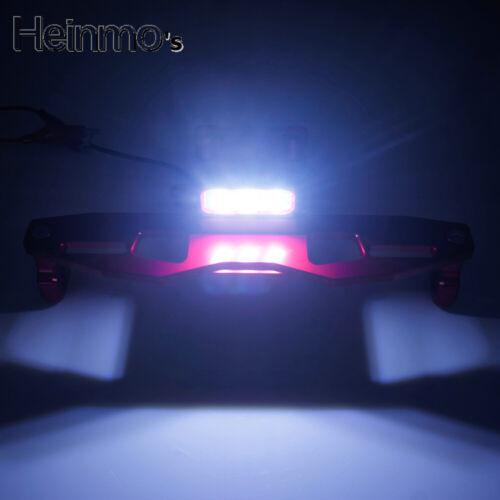 Motorrad CNC License Plate Bracket Holder Tail Tidy With LED für KAWASAKI Z125
