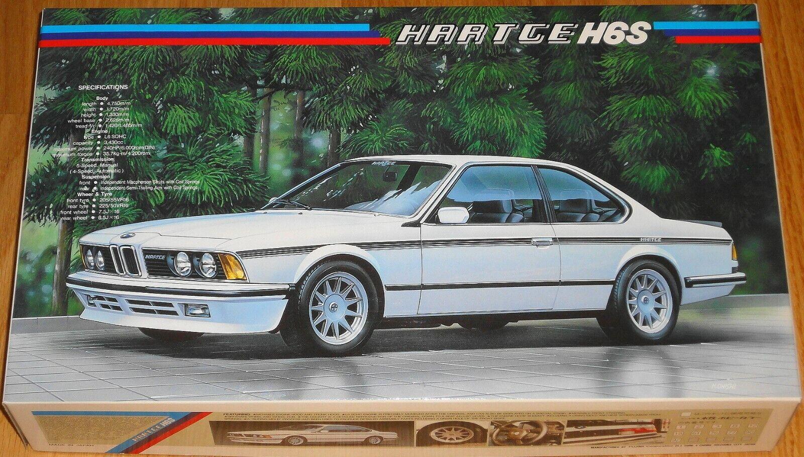 FUJIMI ENTHUSIAST MODEL BMW HARTGE H6S 1 24