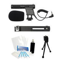 Camcorder Video Cam Mini Microphone For Canon Hf R500 R50 R52 R700 R72