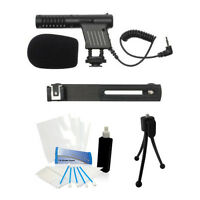 Camcorder Video Camera Mini Microphone For Sony Hdr-xr100 Hdr-xr150 Hdr-xr160