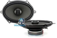 Focal Ic570 5 X 7 120w Rms 2way Aluminum Tweeters Integration Coaxial Speakers