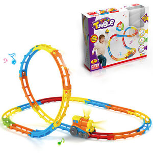Kids Baby Electric Toy Train Model Educational toys for children with light