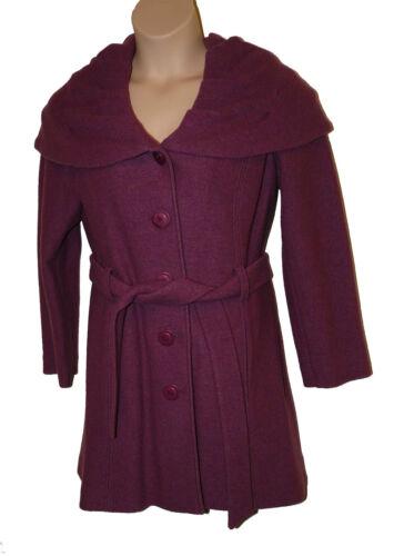 Una Heather Per 18 Size Italy 100 Speziale Bnwt Coat Pink In Made Wool 4UwxFpZ