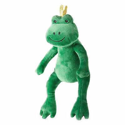 NWT OKIE DOKIE KIDS GREEN FROG PLUSH EASTER BASKET OR HALLOWEEN TOTE NEW