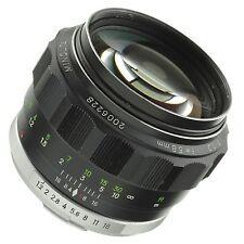 Minolta MC 58mm 1.2 Lens Beautiful Condition