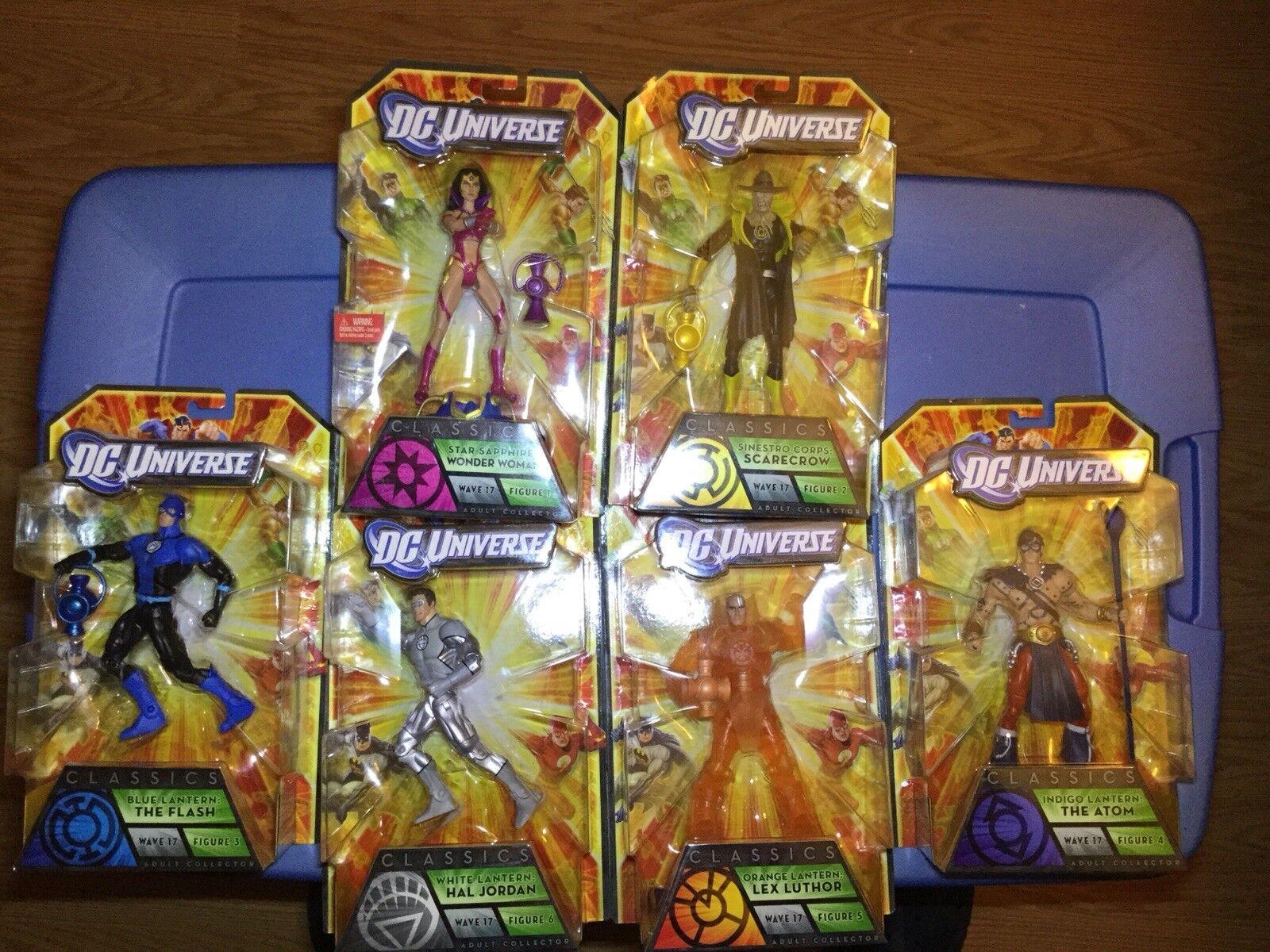 DC Universe Universe Universe Classics BAF Complete Set Anti-Monitor 40cafb