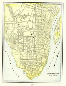 Details about 1901 Antique CHARLESTON Map Vintage Map of Charleston on savannah georgia map, greater charleston map, soth carolina map, charleston tourist map, forestbrook sc map, charleston patriots point map, charleston city map, charleston congaree river map, charleston iowa map, charleston jamaica map, north carolina map, coast emerald isle nc map, charleston neighborhood map, charleston 1700s map, charleston australia map, charleston citadel mall map, myrtle beach map, charleston aquarium map, charleston alabama map, charleston wv,