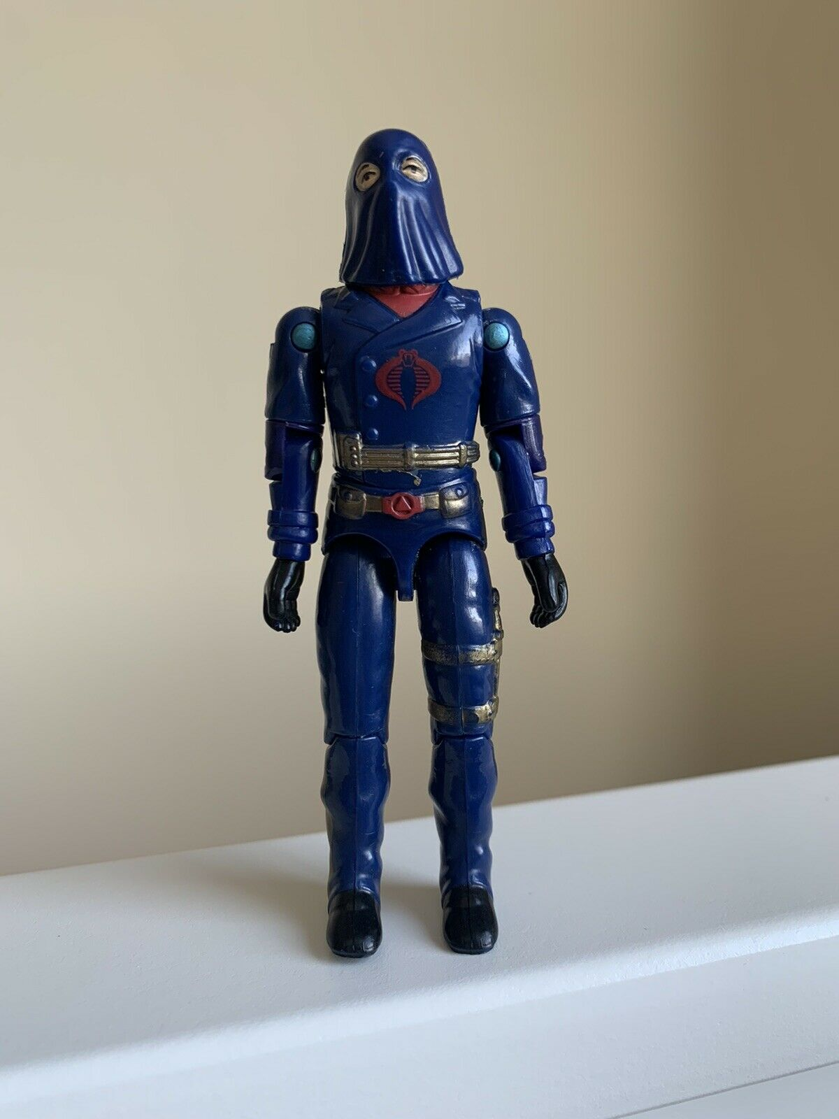 GI JOE Action Figure Cobra Commander 1984 NEW O-RING 12-12-19