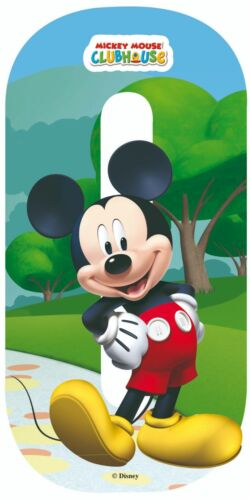 """Disney Mickey Mouse Weather Proof Wheelie Bin Numbers 0-9 7/"""" Quality Stickers"""