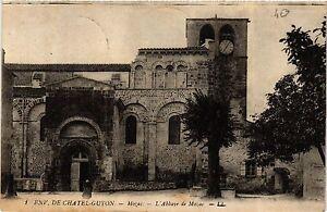 CPA MOZAC L'Abbaye de MOZAC (409616)