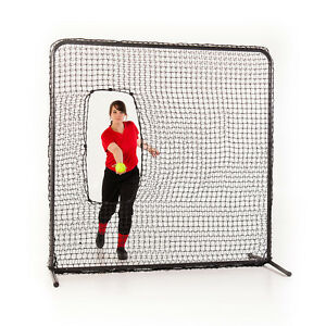 SOFTBALL-BASEBALL-PITCHING-SCREEN-W-FRAME-66-x-66-FREE-SHIPPING